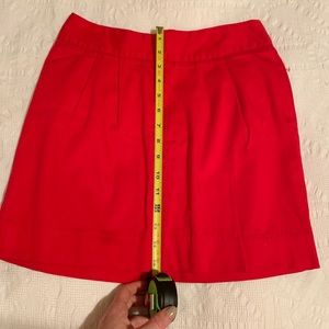 Red Silence and Noise Mini Skirt